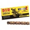 Łańcuch napędowy DID520DZ2 G&B-92 Złoty